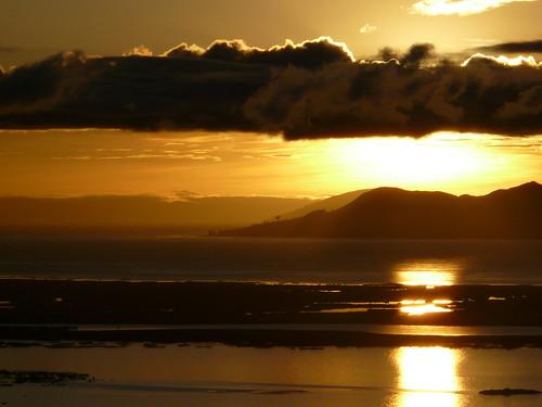 Lever de Soleil sur le lac Titicaca