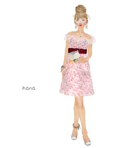 *LS*Fairy flower onp-pink
