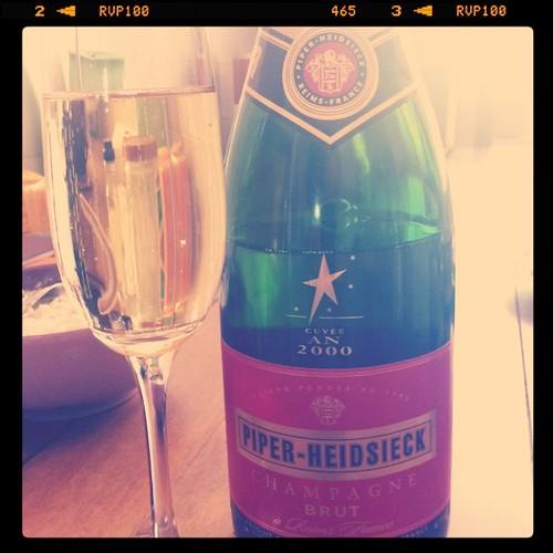 Champagner zum Geburtstag