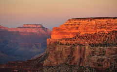 Day's last rays (Stacey Cilia) Tags: sunset arizona nationalpark spring grandcanyon pima fx 2011 d700 southrimpimapoint