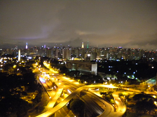 S�o Paulo at night