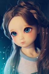 dreamy Chou (Cyristine) Tags: light cute girl ball asian dami doll magic dream adorable kawaii dreamy bjd msd jointed harang elfdoll