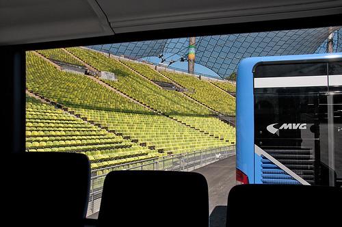 »Nächster Halt: Olympiastadion« einmal anders...