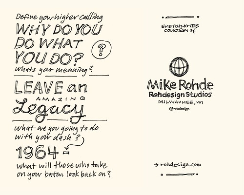 Chick-Fil-A Leadercast Sketchnotes 35-36 - Dave Ramsey