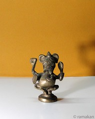 Ganesha 355 (ramakan) Tags: sculpture inspiration metal bronze feast ganesha eyes group lord 365 the pillayar vinayagar ganapathi