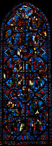 2011 Bourges Cathedral - Saint-Thomas Window