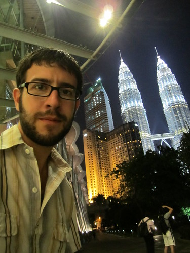 Stephen and the Petronas Towers