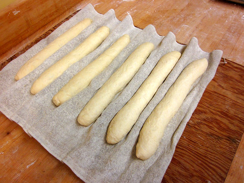 baguettes for proofing