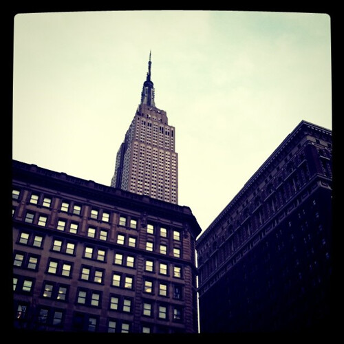 NYC. Empire State. by Making Deals Zine