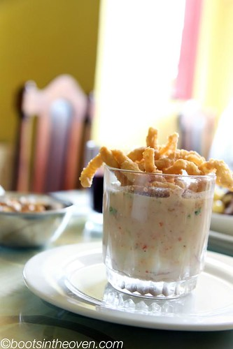 Leche de tigre from Cevicheria Mary