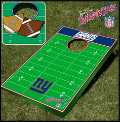 New York Giants Bean Bag Toss Game