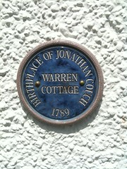Photo of Jonathan Couch blue plaque