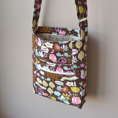 Zippered Shoulder Bag Pattern 10