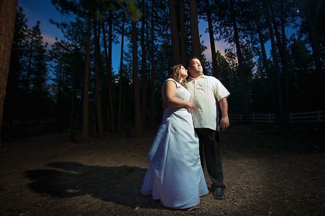 My sister Michele + Her Husband Derek