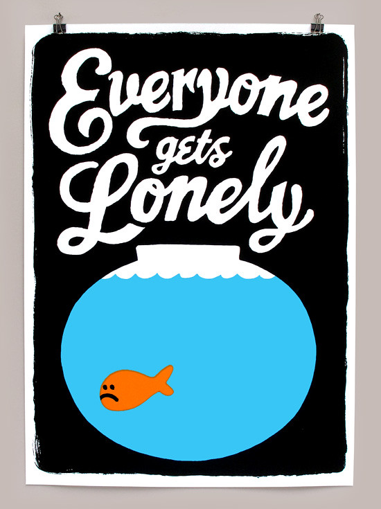 The Lonely goldfish