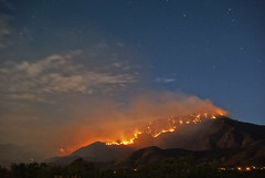 Fire Mountian (Eye of the Storm Photography) Tags: arizona wildfire sierravista cochisecounty coronadonationalmonument flickraward
