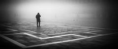 Lost (MaggyMorrissey) Tags: venice italy st fog square lost marks piazza venezia veneto