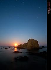 La Cruz de la Luna (Pedro J. Zamora) Tags: lunallena rocas tabarca marmediterraneo marineras elitephotography pedrojzamorablog