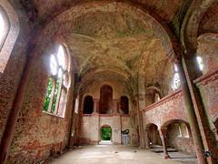 Prinz-Wilhelm-Gedchtniskirche 19 (Moddersonne) Tags: lost place urbex verlassen abandoned decay kirche ruine kirchenruine prinz wilhelm gedchtniskirche polen teufel kirchturm