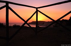Sunset from the balcony Sicilian (- Crupi Giorgio (official)) Tags: italia sicilia agrigento mare costa cielo sole tramonto canon canoneos7d sigma italy sicily sea reef sky sun sunset landscape seascape panorama relax 1020 mm