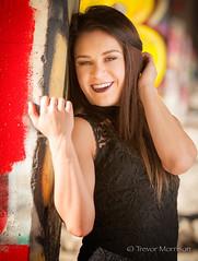 Ashley Pt.20 (tmors) Tags: portrait woman lifestyle editorial desert fashion dress grafiti bridge lines beauty beautiful urban sexy