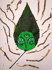 Flora (Alan Kubota - A.O.K) Tags: verde green leaf folha thirdeye terceiroolho art arte alankubota kubota fumo smoke natureza naturaleza nature transcendence transcendencia