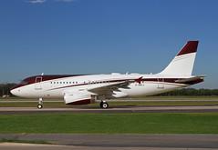 A319.G-OACJ (Airliners) Tags: tag tagaviation 319 a319 319acj airbus airbus319 airbuscorporatejet airbus319cj private corporate iad goacj 10916