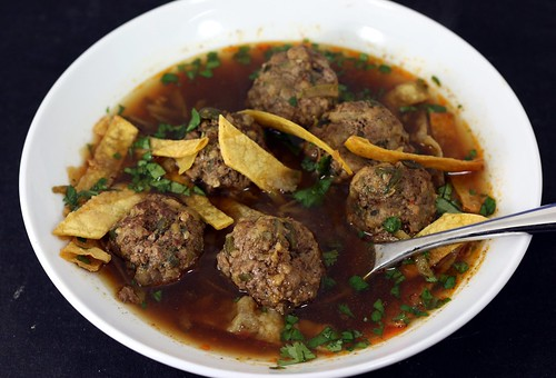 poblano and bacon bountiful black bean soup poblano albóndigas with ...