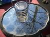 Reflection in antique market (Ezio Beschi) Tags: tree glass mirror albero reflextion specchio vetro riflesso mercatoantiquariato antiquemarket cupholders portabicchieri borgodale
