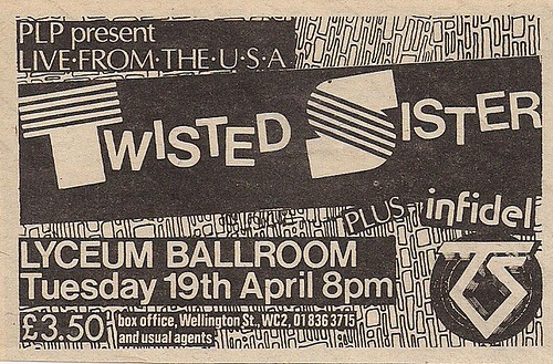 04/19/83 Twisted Sister/Infidel @ London, England