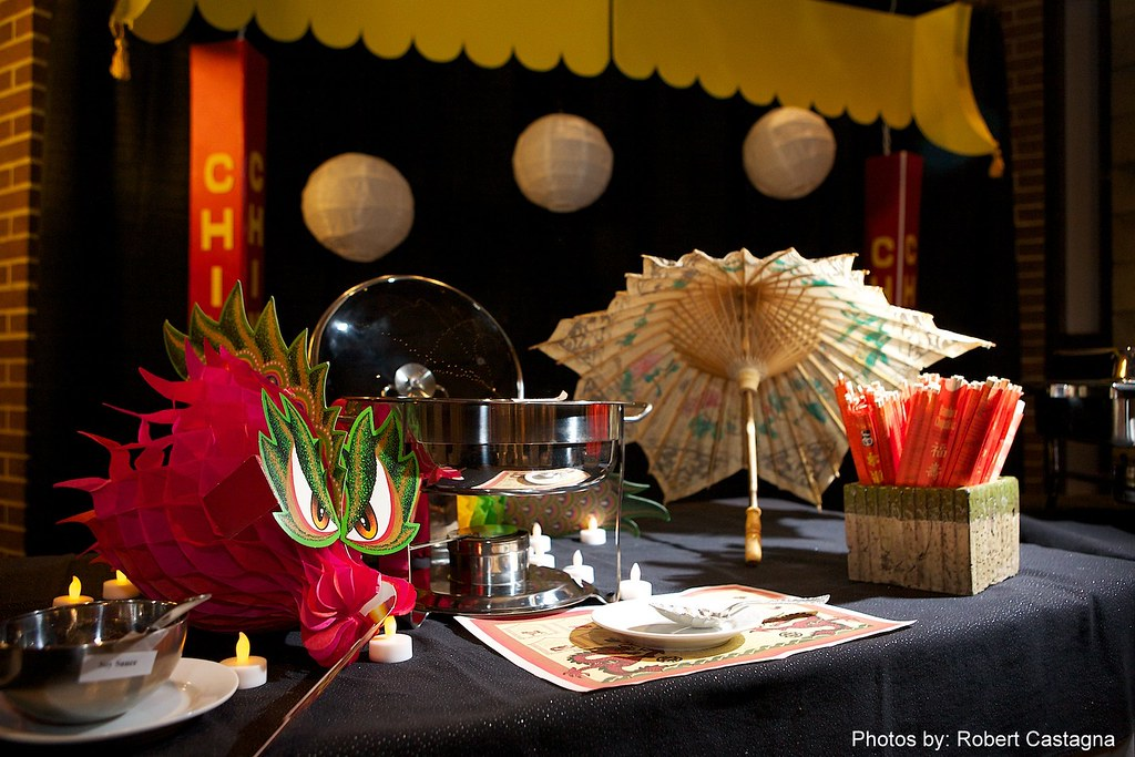 China Town Food Buffet-Bat-Mitzvah, RI, by Gold Event Planner