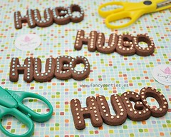 Name or Word Cookies :) (Fancy Parties) Tags: cookies word cookie chocolate name letter decorated lettercookies decoratedcookies namecookies fancyparties