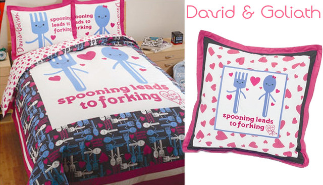 David & Goliath bedding for blog