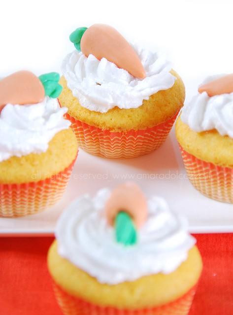 carrot cupcake (milk free)