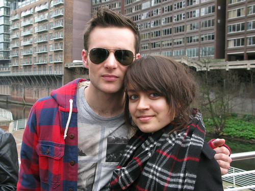 Harry of McFly with Anna