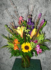 "#38ED $89.95 Large Mixed Vase • <a style=""font-size:0.8em;"" href=""http://www.flickr.com/photos/39372067@N08/5556731259/"" target=""_blank"">View on Flickr</a>"
