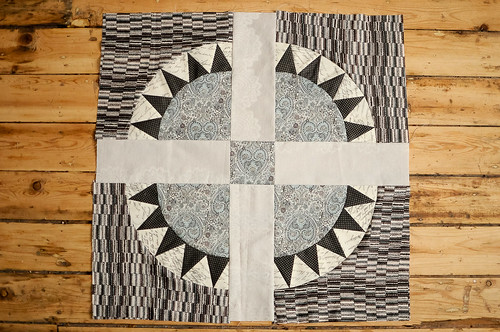 Karyn's Quilt Sampler : Railroad Crossing