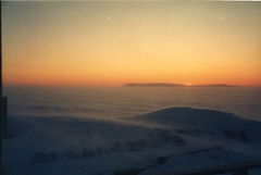 to the west, from safety (.anderson) Tags: sunset storm film alaska wind safety cape nome oldstuff iditarod