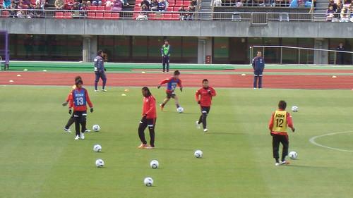 2011/03 チャリティーマッチ 京都vsC大阪 #04