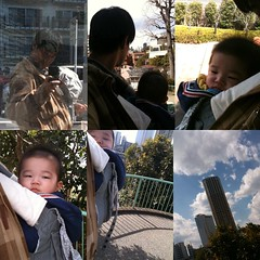二人でお散歩 (3/27)