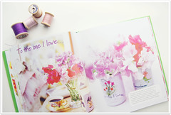 Color story flower book purples and pinks (HeartHandmadeUK) Tags: flowers vintage garden book blog tulips bright crochet bunch organized posy organised flowerarranging hearthandmade hearthandmadeblog lifestyleblog hearthandmadeuk