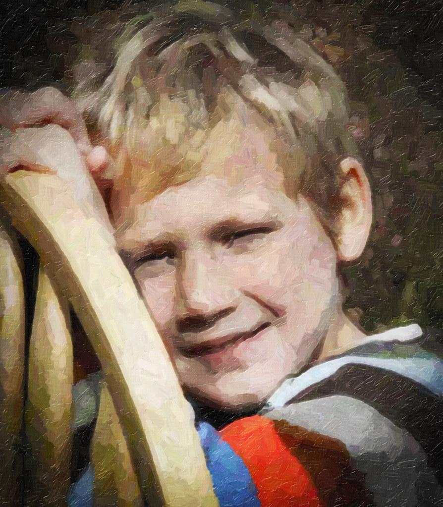 Custom Child Oil Portrait