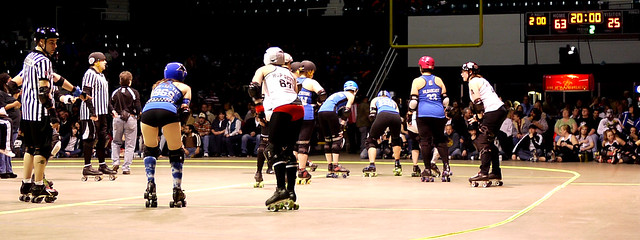 Cincinnati Rollergirls vs. Memphis