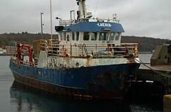 (Zak355) Tags: ship rusty vessel rothesay workboat isleofbute laksen oddegutt