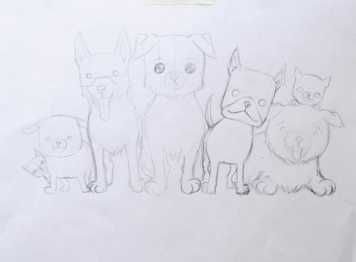 Viipurin Koirat in progress