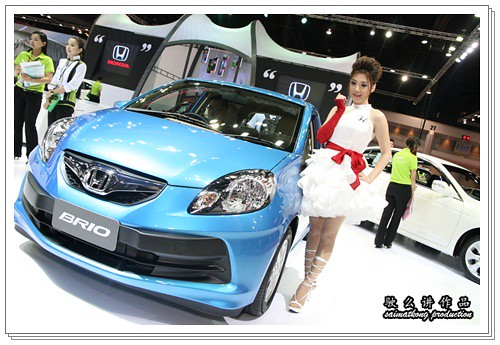 Bangkok International Motor Show 2011 – Honda Sexy Models / Show Girls