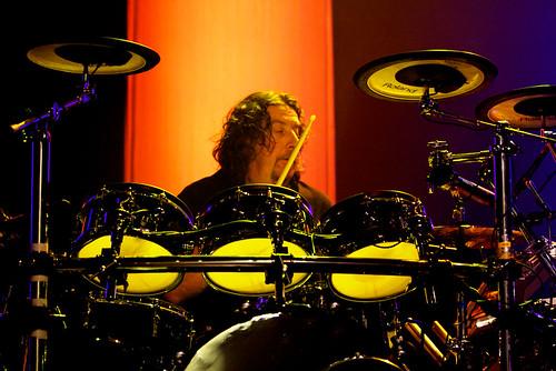 Malcolm Holmes, Schlagzeuger von OMD - (C) Flickriver