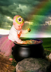 Abigail's Pot of Gold (poitzoit) Tags: st gold pot abigail patricks patty