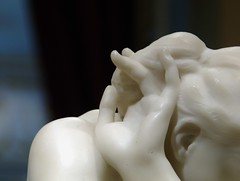 Eve's Ear (Washington, DC) (takomabibelot) Tags: sculpture geotagged washingtondc dc ear marble shoulder lefthand corcoranmuseumofart augusterodin 1881 eveafterthefall geo:lat=3889583432 geo:lon=7704024732
