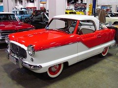 2011 World of Wheels in Boston (mike01905) Tags: worldofwheels boston 2011worldofwheels 1957 nash metropolitan